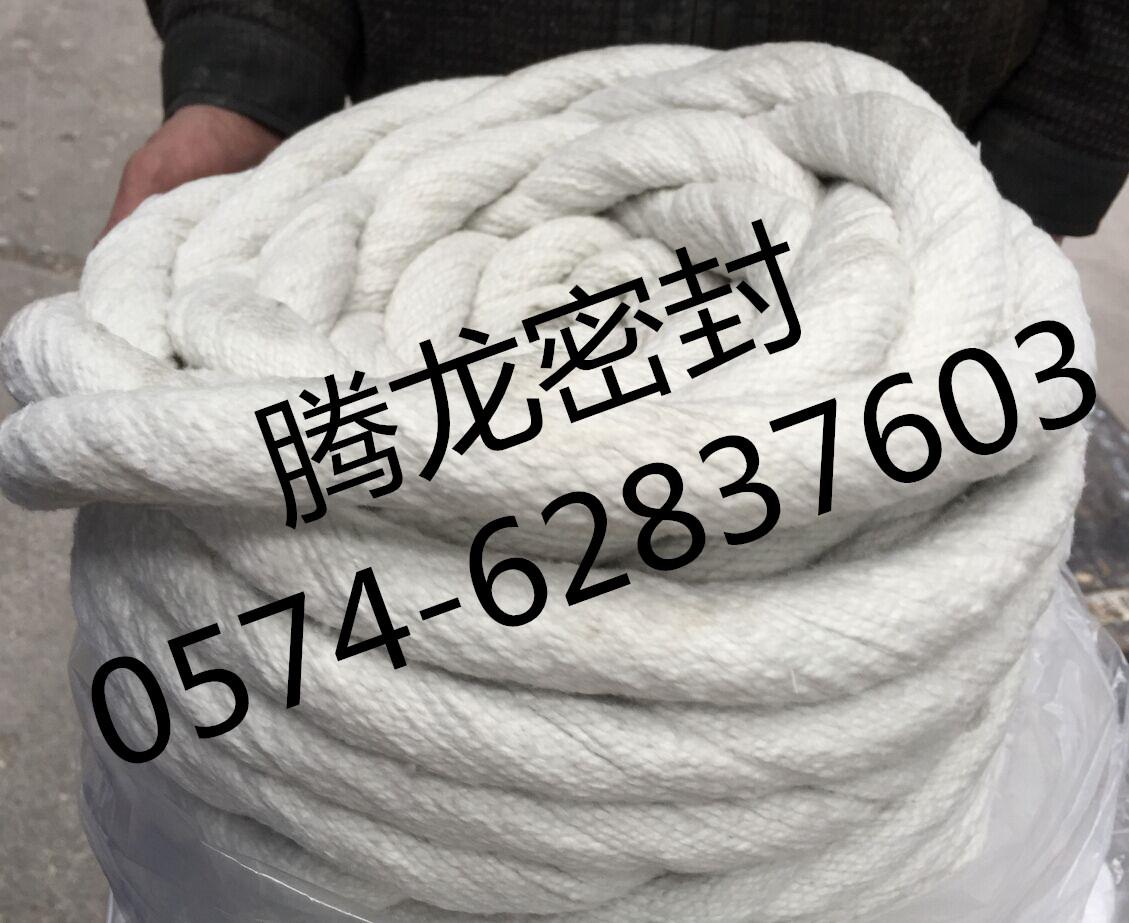 腾龙密封陶瓷纤维扭绳玻璃纤维/不锈钢丝增强硅酸铝纤维绳200卷出运信息