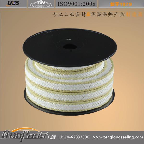 白四氟芳纶交织盘根