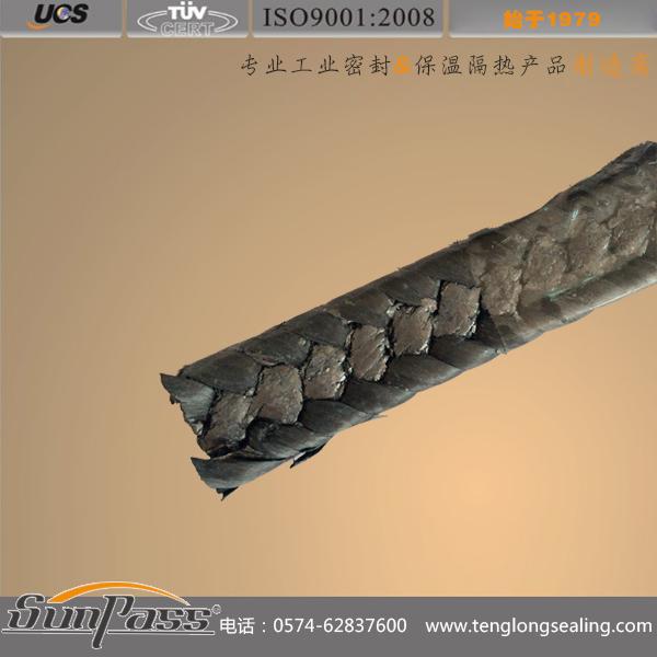 柔性石墨高碳交织盘根