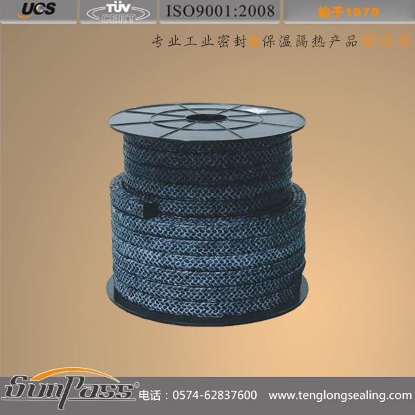 碳素纤维四氟盘根