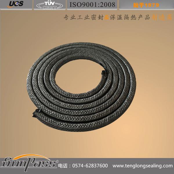 高碳纤维涂石墨盘根