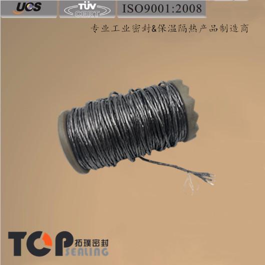 5根玻纤和5根不锈钢丝增强石墨线